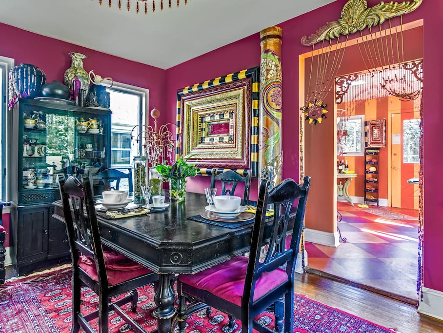 Magical, Colorful Victorian....