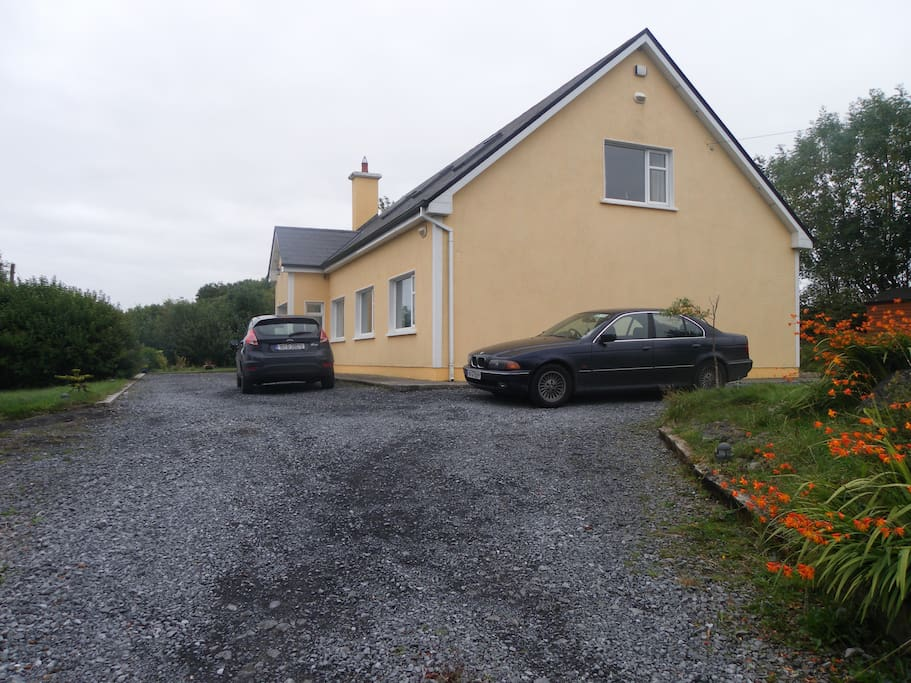 The house - plenty of room for parking