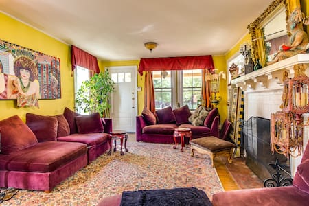 Magical, Colorful Victorian.... - Asbury Park - Casa