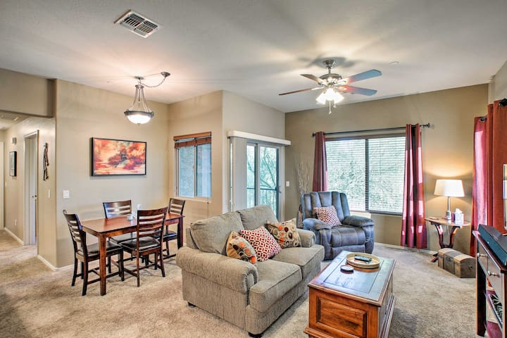 NEW-Condo Walk to Downtown Fountain Hills, Pets OK
