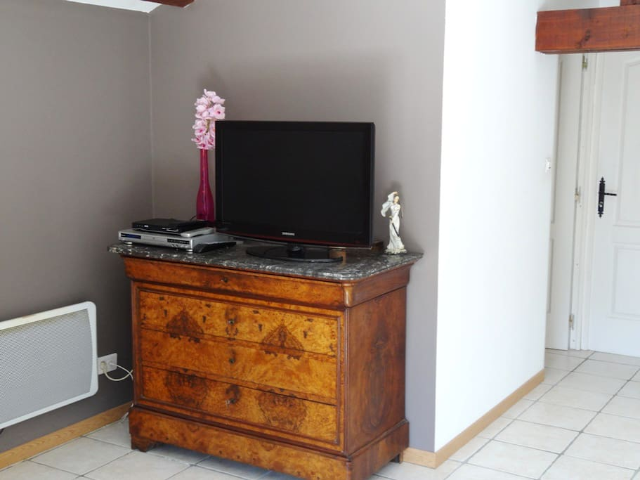 TV écran plat avec lecteur DivX