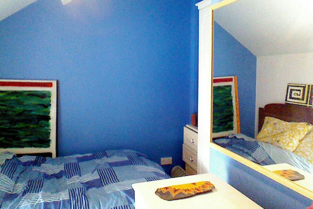 Bedroom 1. (Floor level window not visible in this pic)