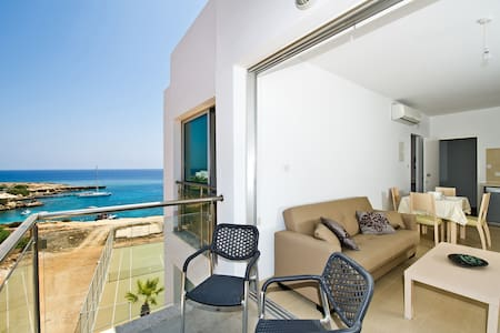 ☀️ Luxury Apartment with a Sea View-(free WiFi) ☀️ - Paralimni