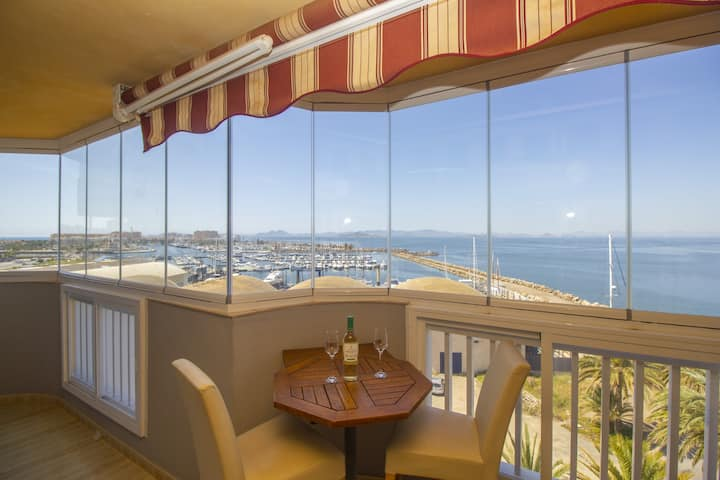 Two bedroom with beautiful sea views