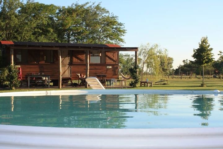 Un vagón que invita al relax!!! - Lincoln - Bed & Breakfast