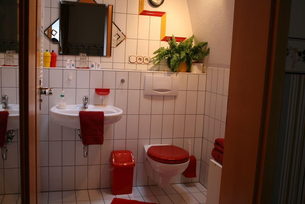 double room No. 1 / shower bath room