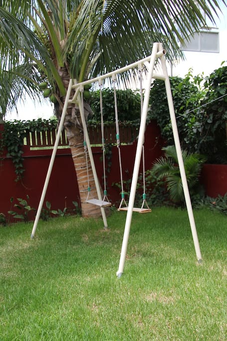 Want to play... Let your kids have fun in our garden