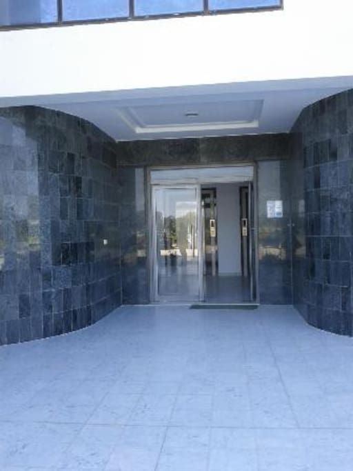 Entrance of the building