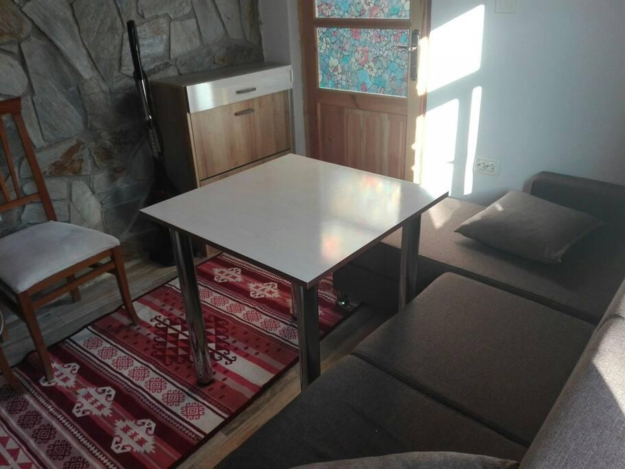 Oturma Odası/Mutfak