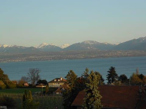 Dom 200 m od Ženevského jazera
