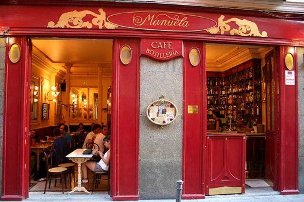 Café Manuela, en Malasaña