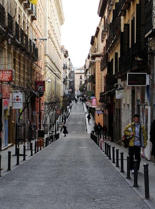 Calle Corredera Alta de San Pablo