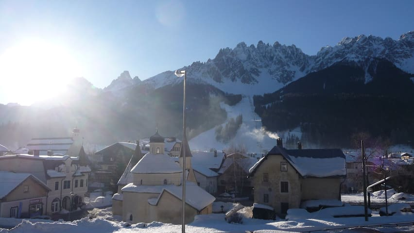 Great view on Dolomites - Innichen - Apartmen