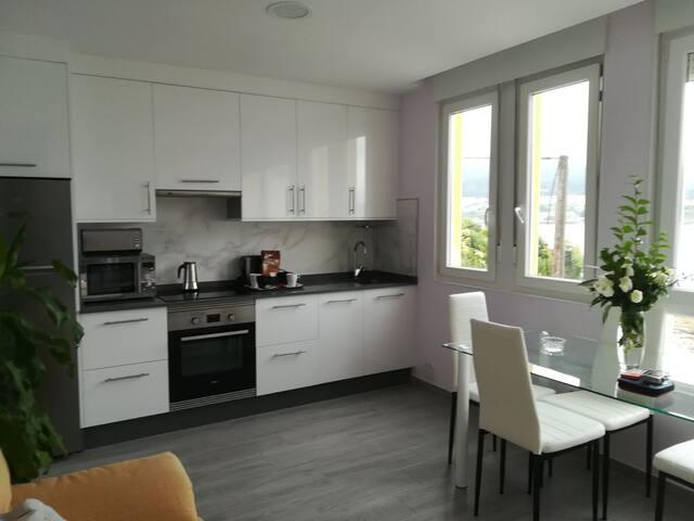 Espectacular apartamento encima dla ria  Corcubión