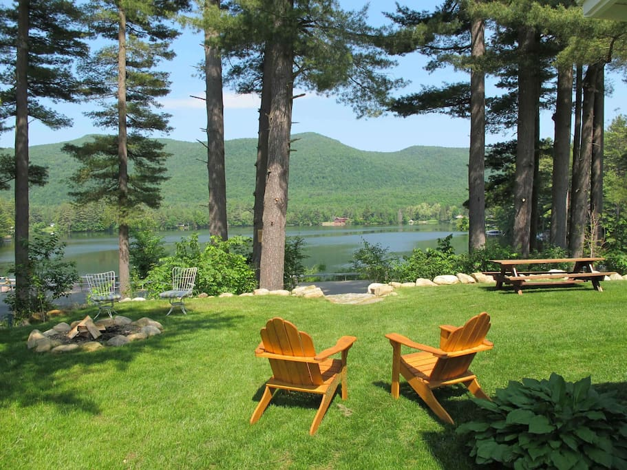 Lake Algonquin and Dunham Mountain Views - some of the best on the lake!