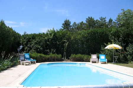 Peaceful self-catering studio, pool - Grospierres - Byt