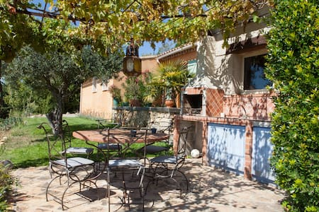 Location villa avec piscine  - Tourtour