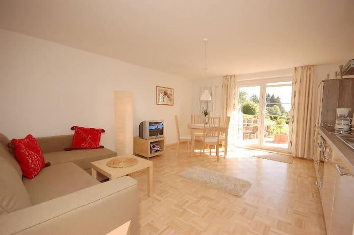 Haus Scherer, (St. Peter), Ferienwohnung Gartenblick, 42qm, 1 Schlafzimmer, max. 2 Personen