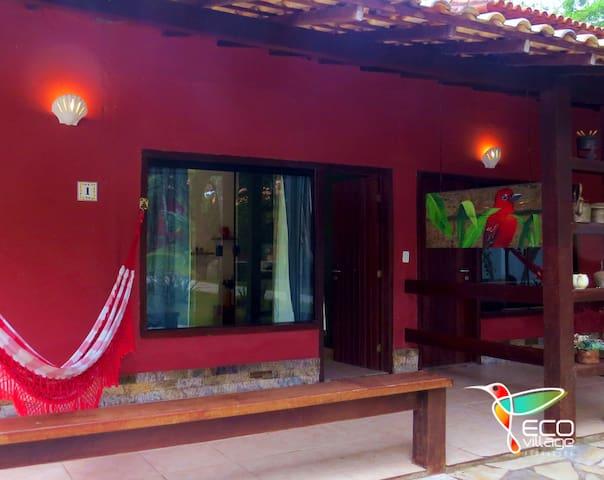 Charmosa Suite KING1 com varanda,coz.compartilhada