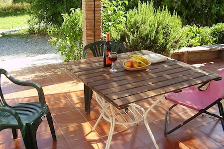 El Bamboo, cortijo, rural cottage with pool. - オルヒバ