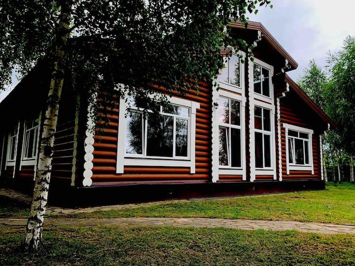 Дом 500 м2 в рядом с р. Волга