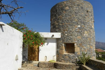 Windmill house by the sea - Elounda - Villa