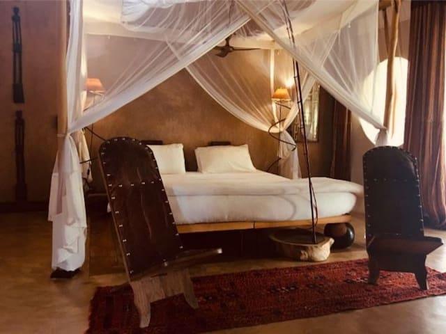 AFRIK - Chambre au Bakuba Lodge