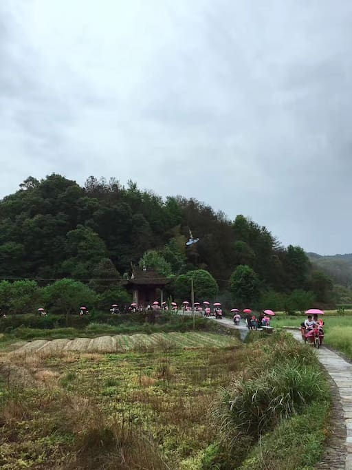 This is Kuixing Ge(temple ) for the village, Chinese temple building in which Kuixing god is enshrined.