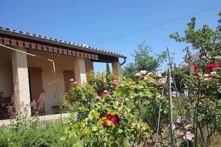 Le jardin fleuri - Vinsobres