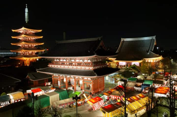 Airport transfer service&Asakusa traditional house