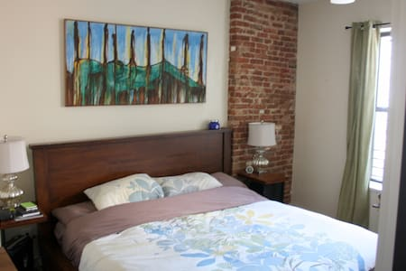 Large 2BR 2BTH 1 block from subway