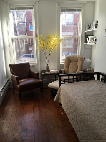 2-BR brownstone in Hoboken (20 mins to Manhattan) - Hoboken