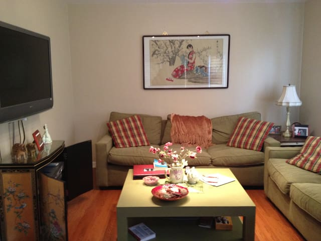 NY 25 min away-Charming NJApartment - Paramus - Huis