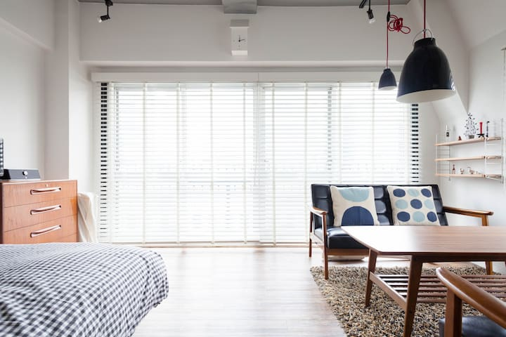 HEART OF SHIBUYA: AIRY & STYLISH - Shibuya - Apartment