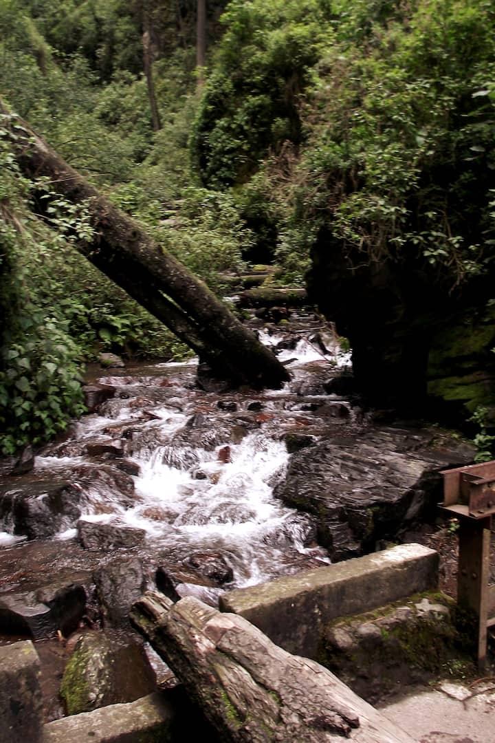 El río deshielo del Iztaccihualt.