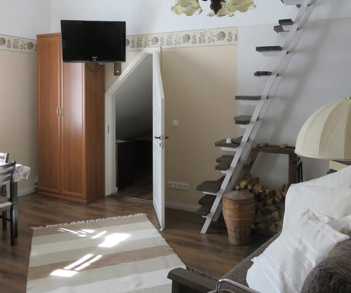 Loft for 2-4 in Haapsalu near the sea/old town.