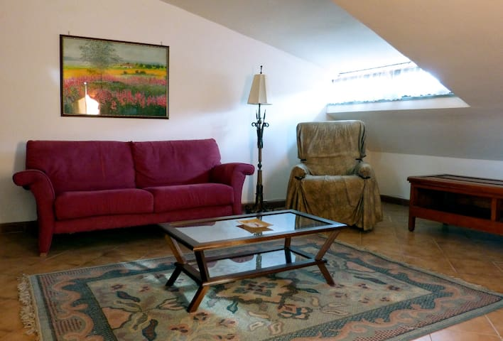 Spacious cozy attic in the center of Agropoli - Agropoli - Lägenhet