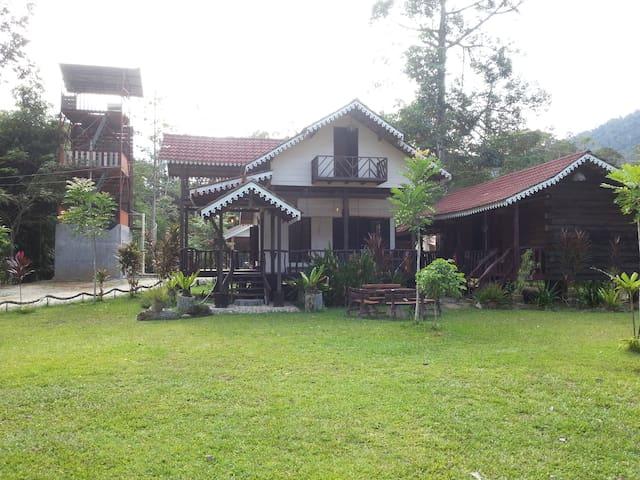 Sedim Vista Homestay and Chalet  - Kulim - Xalet