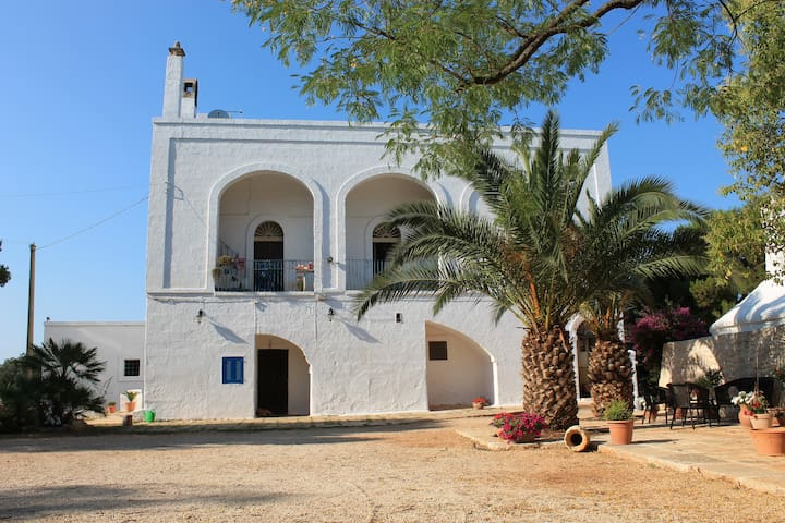 Typical Masseria with Trulli