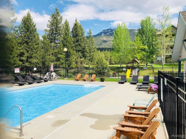 You will love the on-site amenities. The outdoor pool.