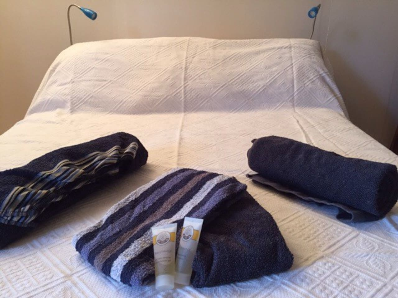 Couchage confortable pour deux personnes