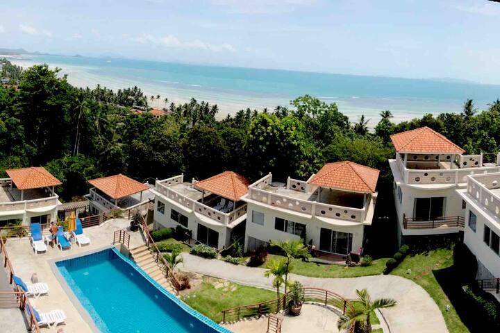 Closedup Seaview #180 at Samui with 8 Villa lovely
