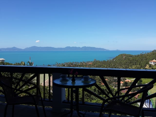 Sky villa Naak - panoramic sea view - Ko Samui - Daire
