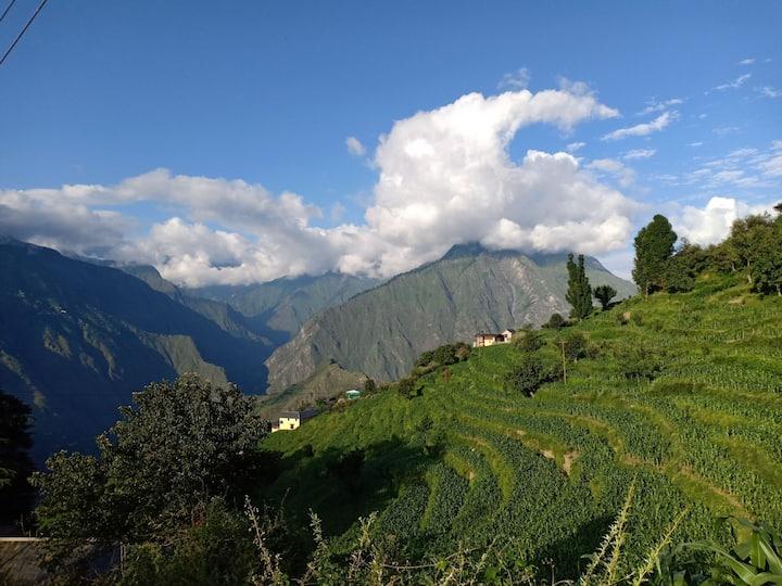 Zen Hamlets Himalayan Deodar cabin Chamba Valley