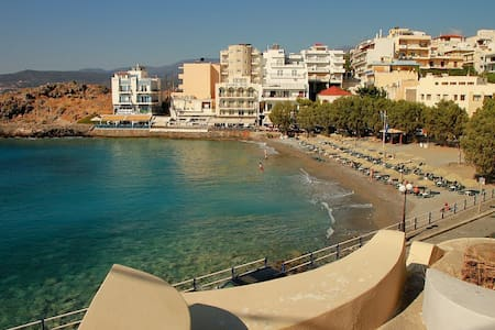 nice at 80m.from this awarded beach - Agios Nikolaos