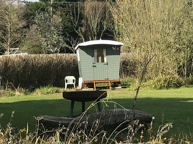 Shepherd's Hut for cosy getaway