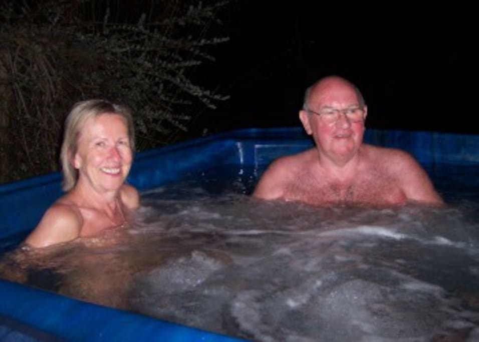 Wai-natur Naturist Park - Hot spa pool
