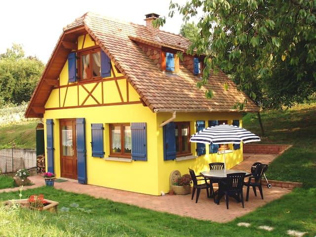 Gîte en Alsace entre Strasbourg et Colmar à Mutzig - Mutzig - Huis