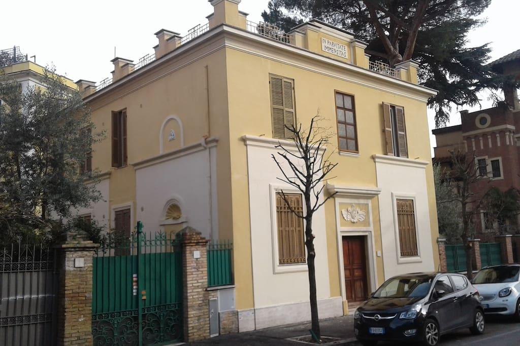 L'ingresso dell'Ex Convento