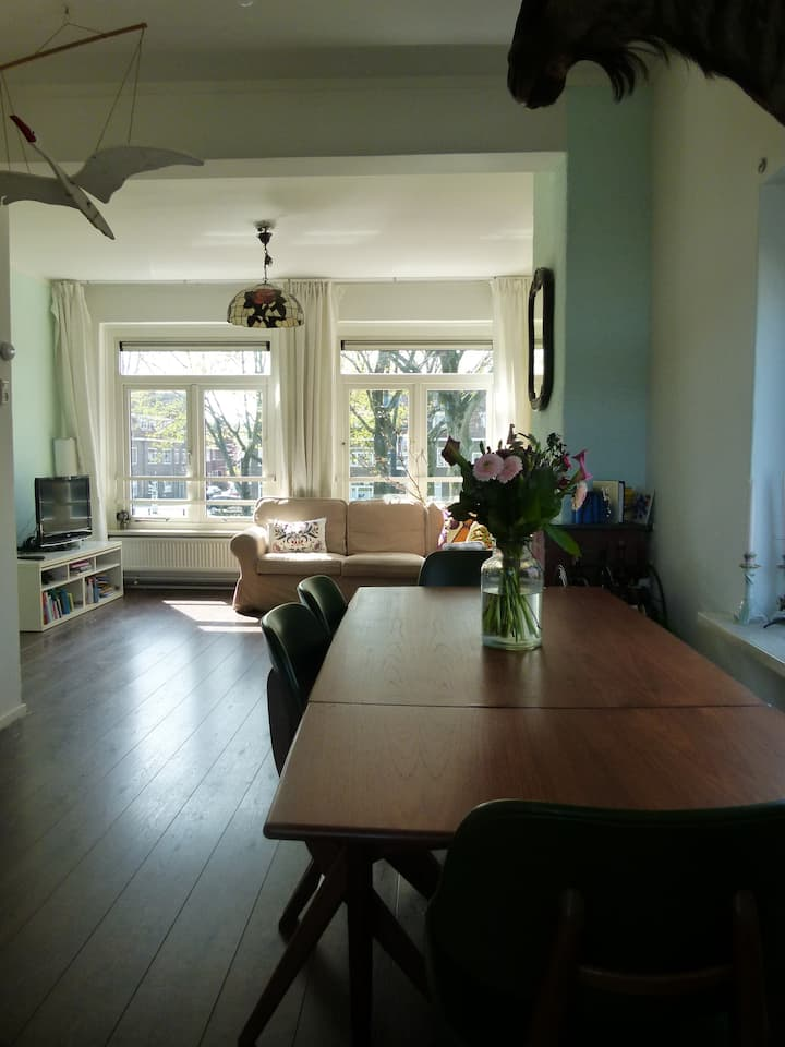 Comfortable 70m2 apartment near Utrecht center